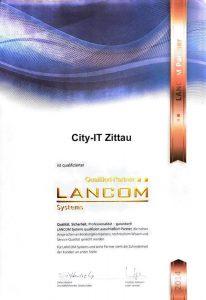 Zertifikat Lancom