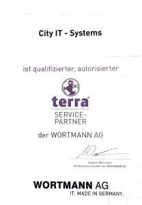 Zertifikat Terra Service